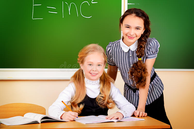 Learn together stock photography
