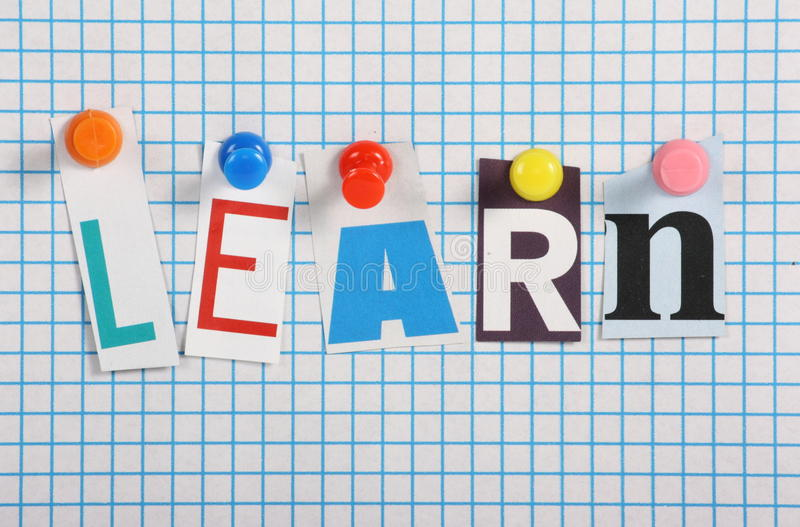 Download Learn stock photo. Image of knowledge, learn, letters - 31350398