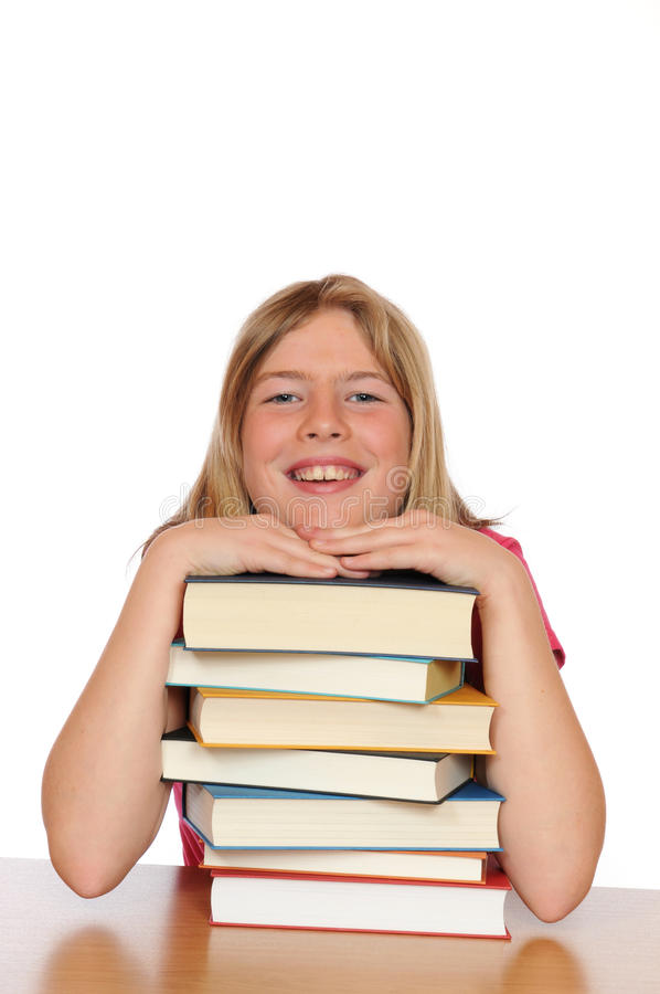 Download Learning stock photo. Image of girl, homework, adult - 24478572