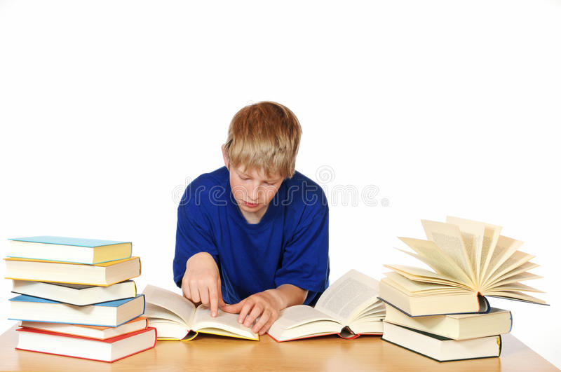 Download Learning stock photo. Image of textbook, studio, book - 25461584