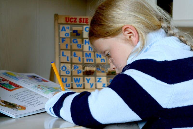 Learning alphabet stock photos