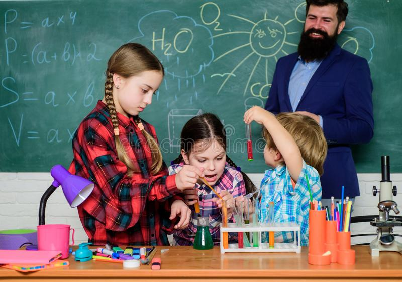 Learning is integrated. With experience comes knowledge. Formal education. Group interaction communication. Practical stock photo