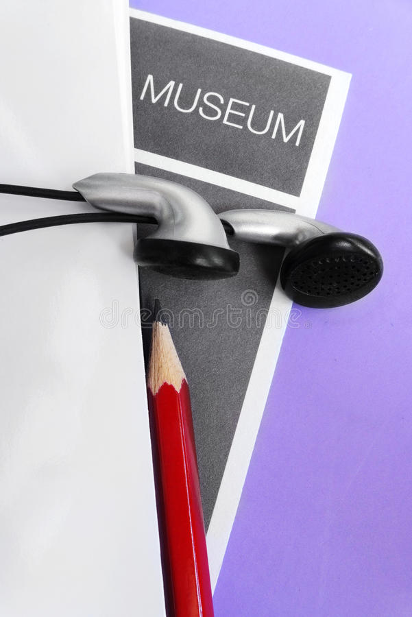 Download Visiting Museum With Audio Guide Facility Stock Image - Image: 30264125