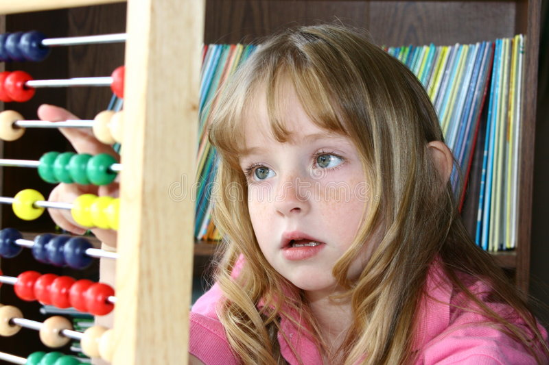 Download Learning math on an abacus stock image. Image of homeschool - 2227115