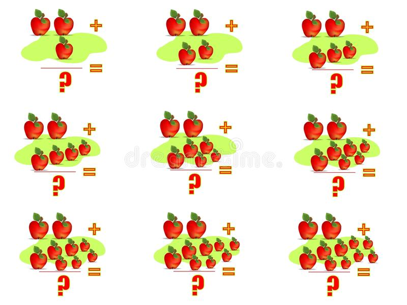 Download Learning Math, Adding 2, Cdr Vector Royalty Free Stock Photography - Image: 18947667