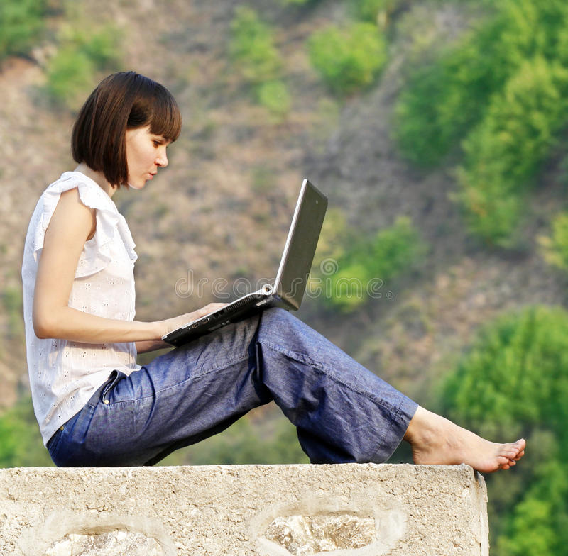 Download Learning in the nature stock image. Image of friendly - 26380041