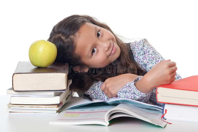 Download Learning Pressure At School Stock Photo - Image: 16131916