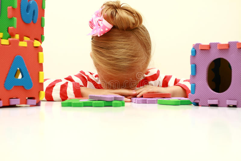 Learning problem royalty free stock image
