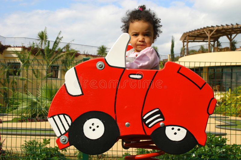 Download Learning to Drive stock photo. Image of learn, girl, child - 722800