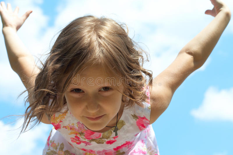Download Learning to fly stock photo. Image of blue, ready, child - 9785634