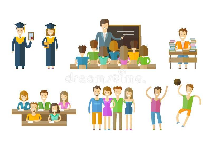 Learning, tuition, schooling vector logo design vector illustration