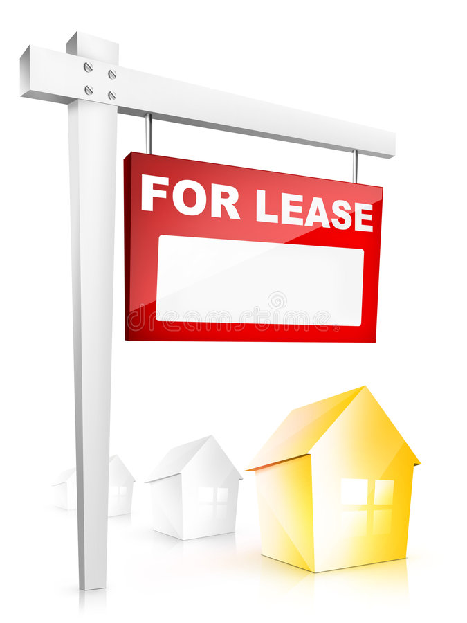 Download For Lease stock illustration. Image of front, district - 9187147
