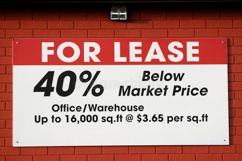 For lease sign stock images