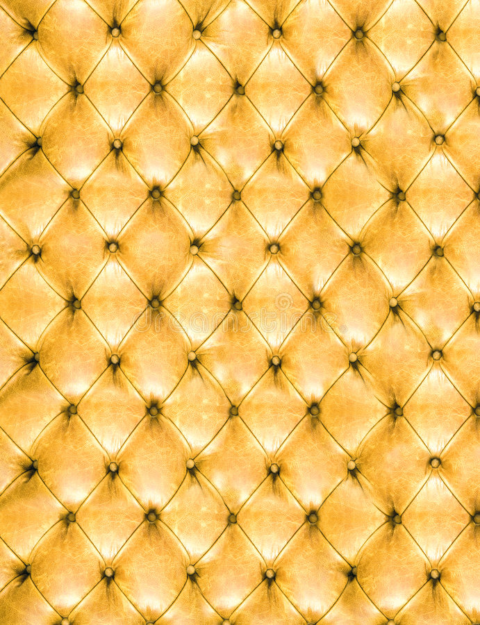 Leather. Fine leather upholstery of furniture royalty free stock photo