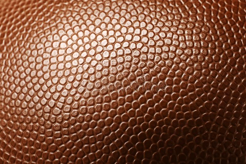 Leather American football ball as background stock photos