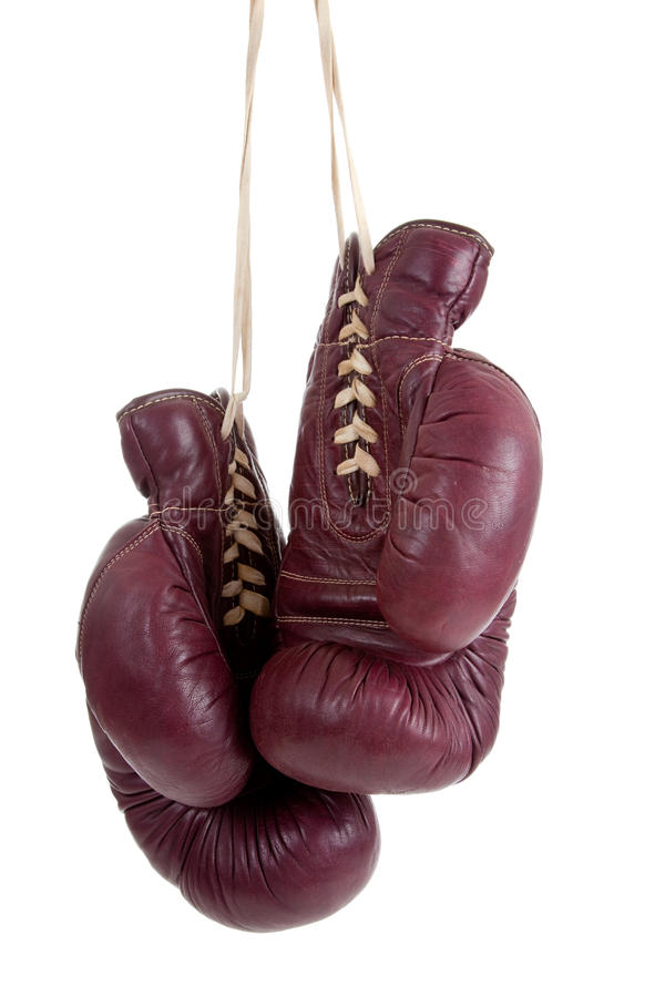 Free Leather, Antique Boxing Gloves Royalty Free Stock Photography - 10650257