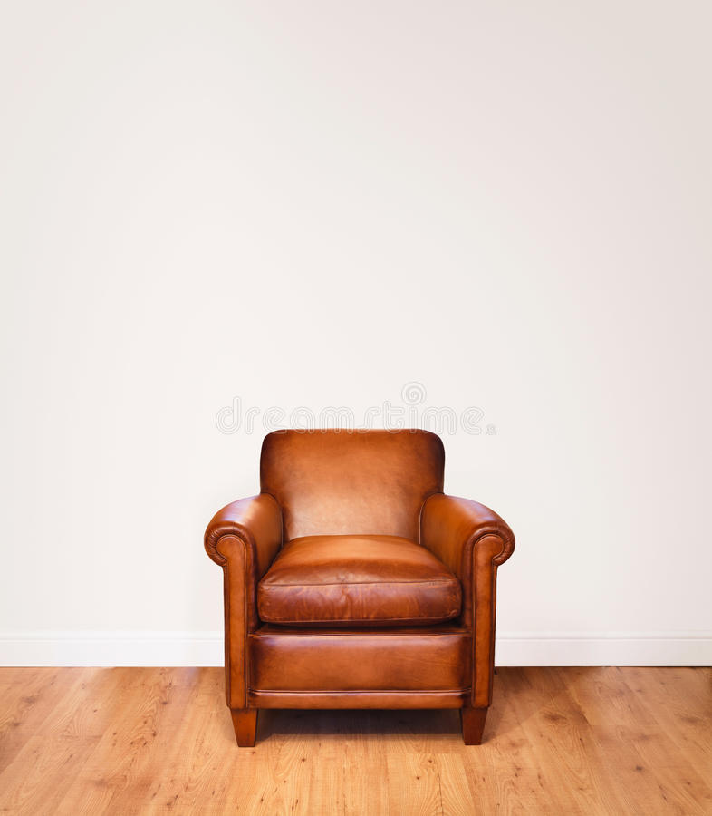 Free Leather Armchair Stock Photo - 27173170