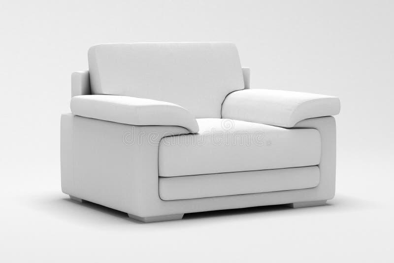 Leather Armchair stock photos