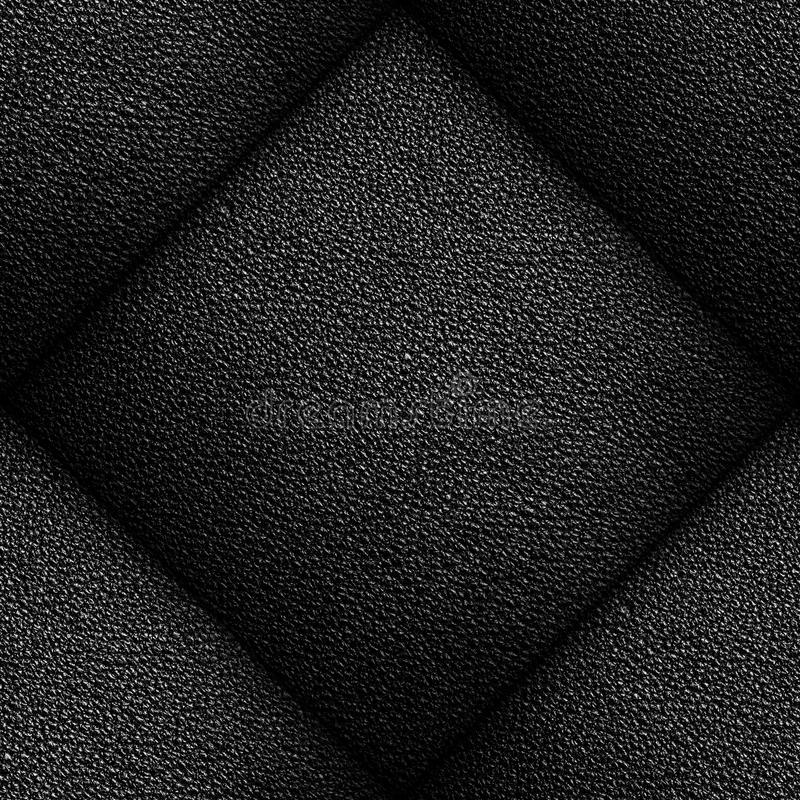 Leather Background. Seamless pattern of black leather texture for background royalty free stock image