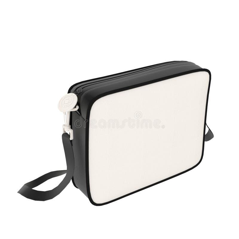 Download Leather bag stock photo. Image of fashionable, shut, white - 14920242