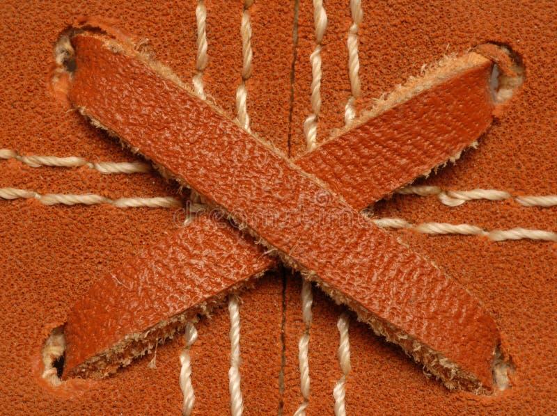 Download Leather Baseball Glove Details Stock Image - Image: 8474299