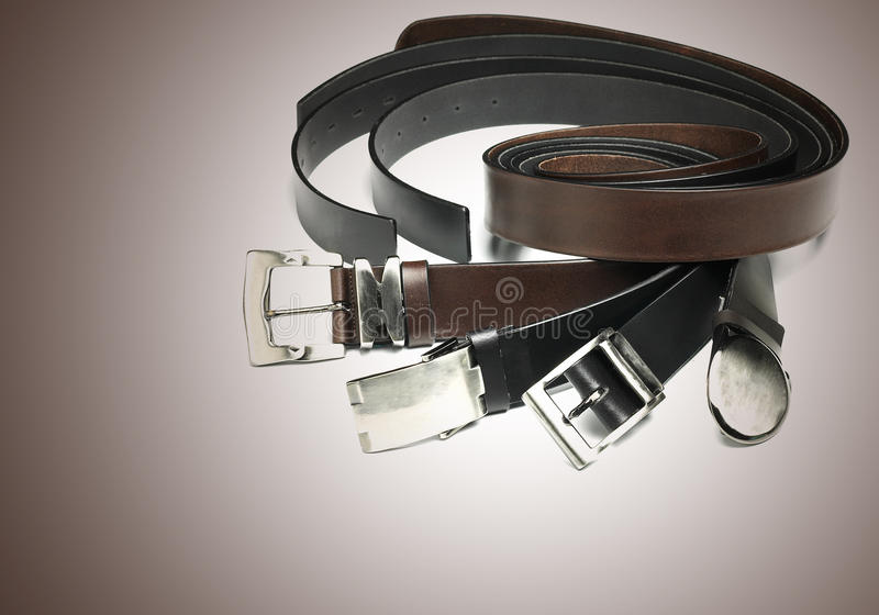Download Leather belt stock image. Image of cowhide, buckle, material - 13611733