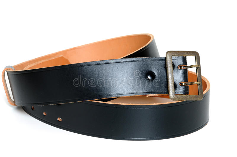 Download Leather belt stock image. Image of silver, fashion, studio - 23411843