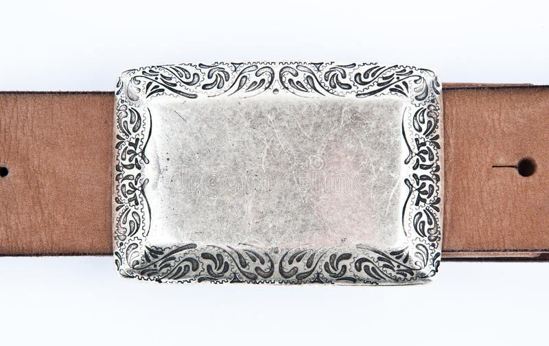Leather belt detail royalty free stock photography