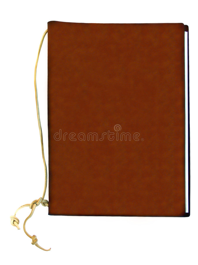 Leather binder stock photos