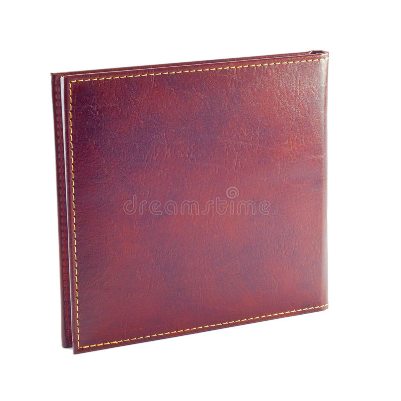 Leather Binding - Note Book - Planner royalty free stock images