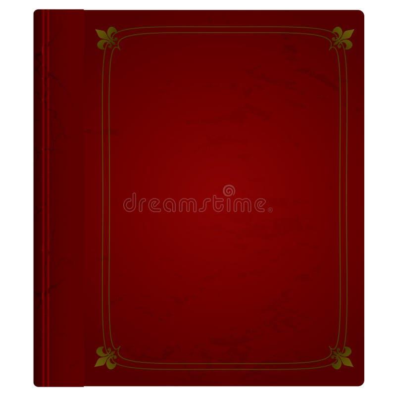 Download Leather book stock illustration. Illustration of maroon - 11514513