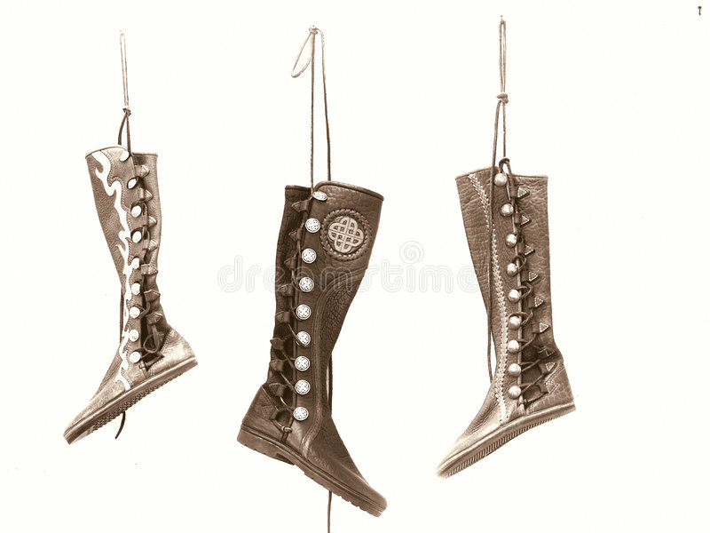 Download Leather Boots stock photo. Image of isolated, festival - 116840