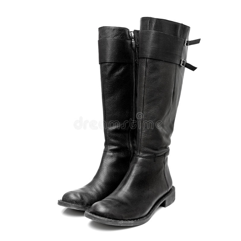 Download Leather boots stock photo. Image of boot, ladies, clothing - 13192196