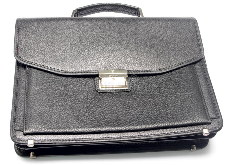 Download Leather briefcase stock photo. Image of single, storage - 21820382