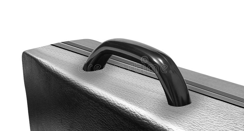Leather briefcase isolated royalty free stock photos
