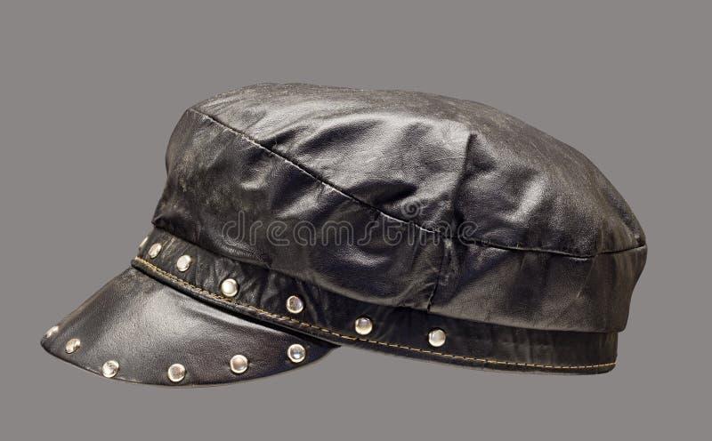 Leather Cap Stock Image