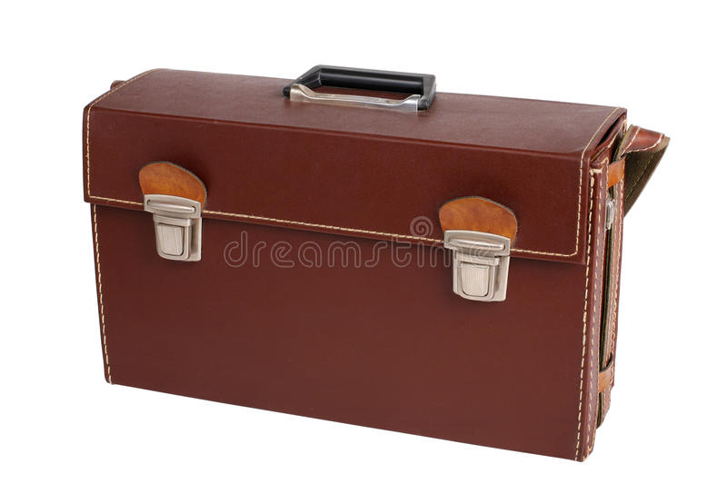 Download Leather case stock image. Image of solid, storage, single - 15885753