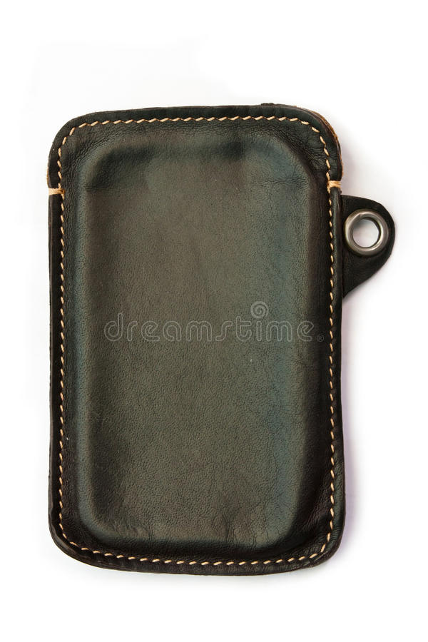 Download Leather case stock photo. Image of equipment, phone, telephone - 26636042