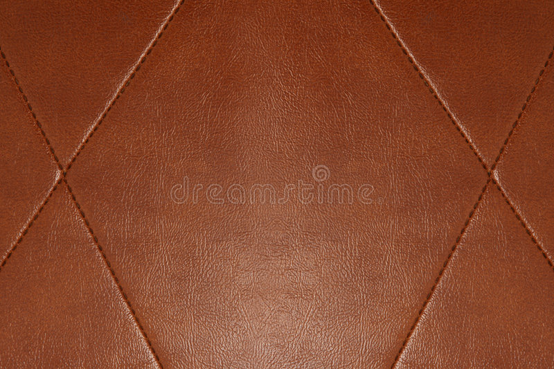 Leather Chair Texture Background. Brown leather texture background close up royalty free stock photos