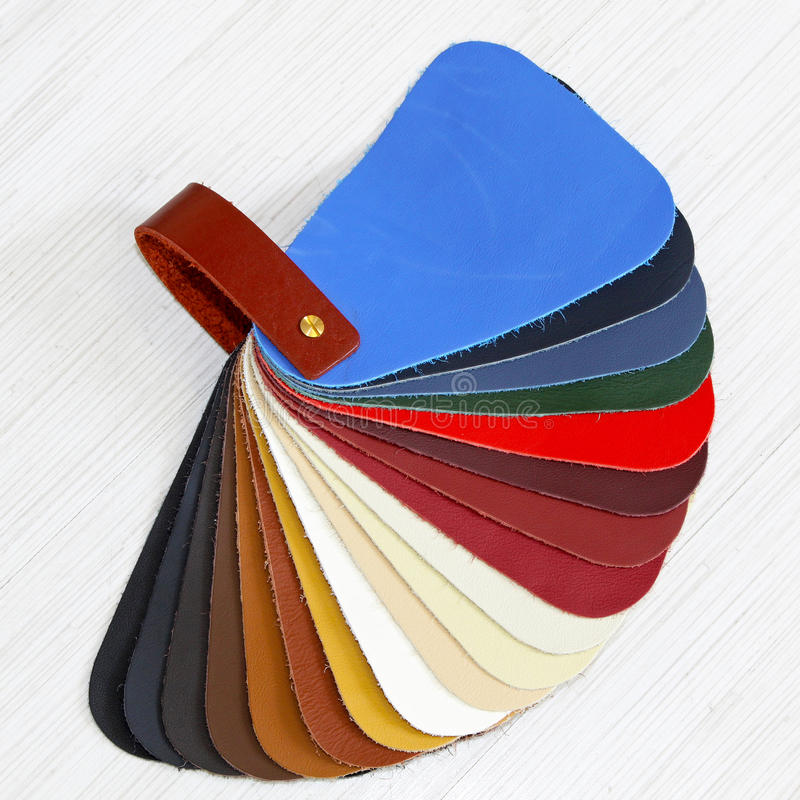 Leather Color Royalty Free Stock Photography