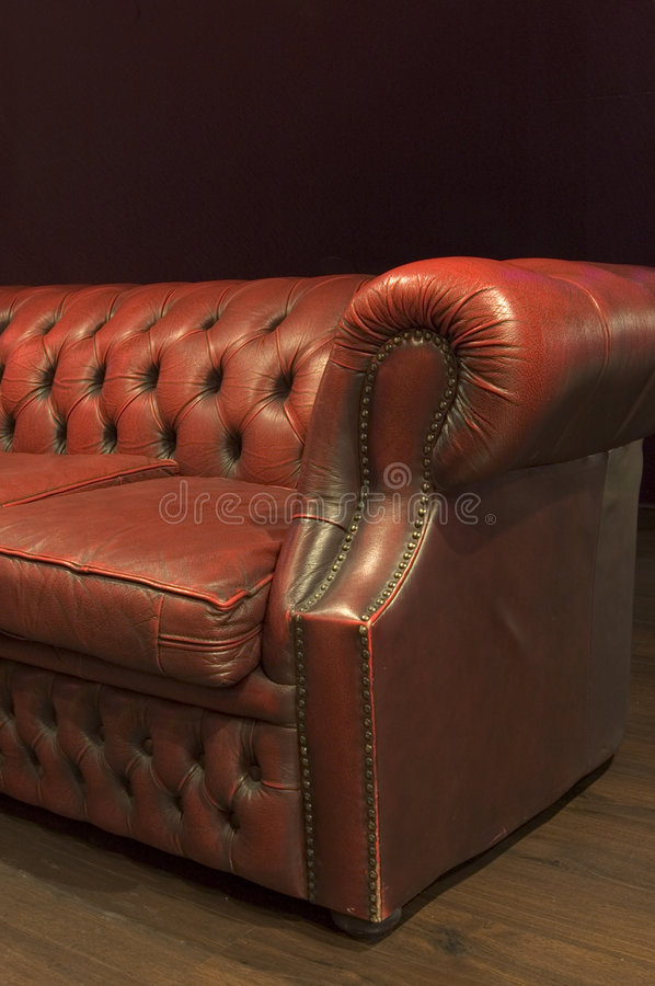 Leather Couch royalty free stock photography
