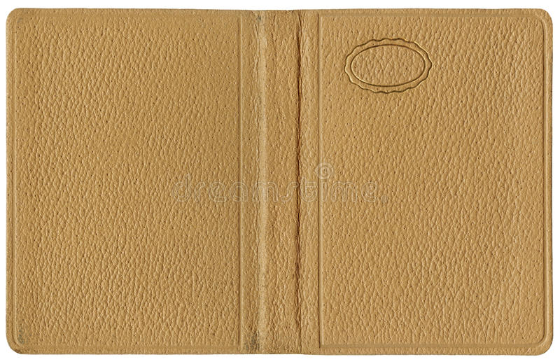 Download Leather cover Beige stock image. Image of notepad, ripple - 33549153