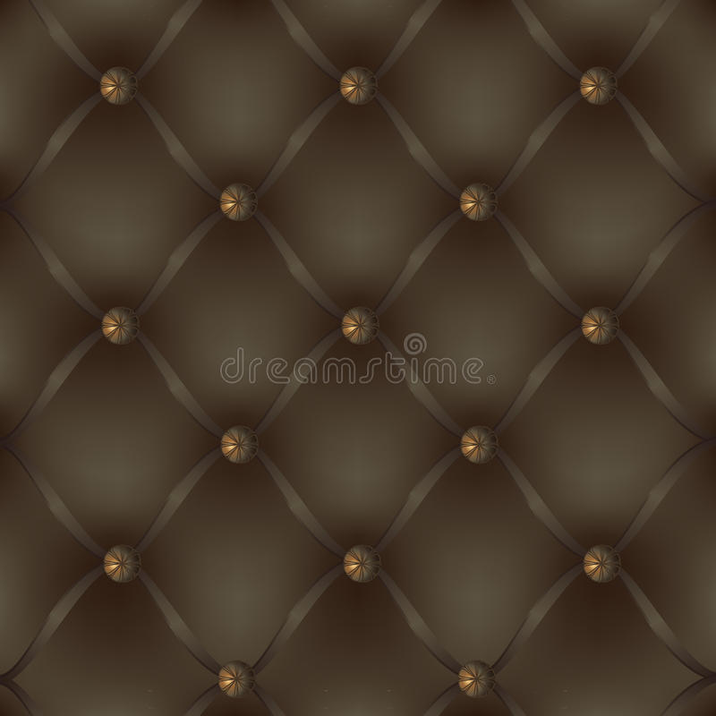 Leather decorative upholstery royalty free stock image