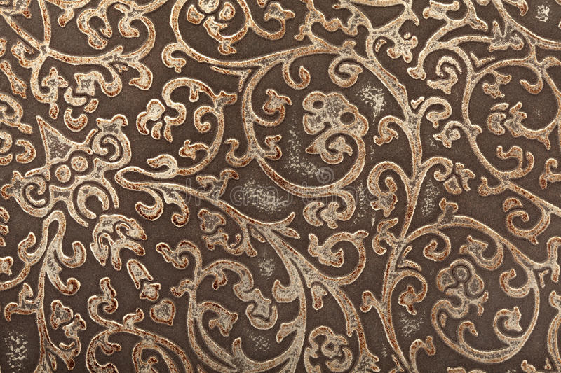 Download Leather Floral Pattern Background Stock Image - Image: 22155069