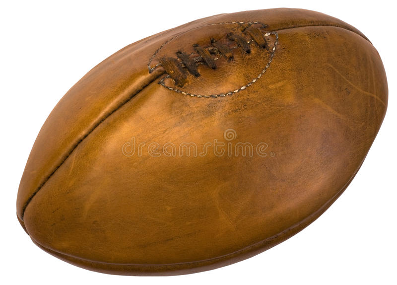 Leather football royalty free stock images
