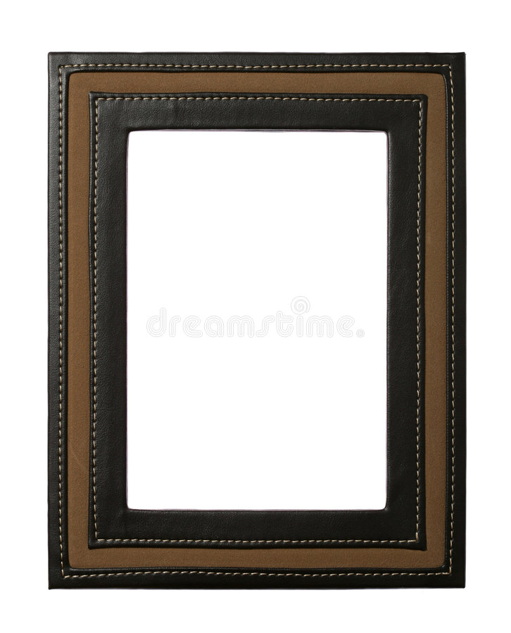Leather Frame Royalty Free Stock Image