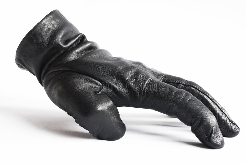 Leather Glove #1 royalty free stock image