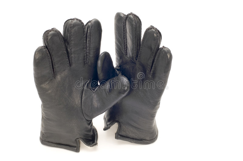 Leather glove royalty free stock photography