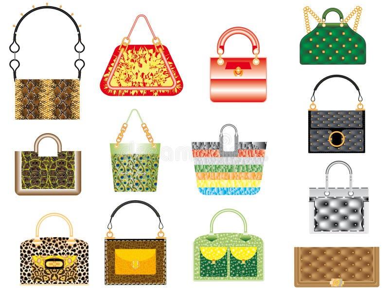 Leather Handbags Royalty Free Stock Photo