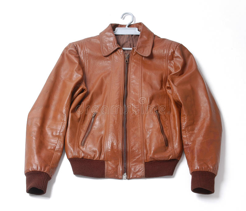 Download Leather jacket stock photo. Image of clothes, material - 11995714